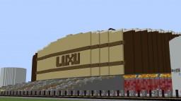 Luxuryus Basketball Arena (fictional) Minecraft