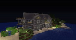 Beach-side Mansion by Bodhisativa Minecraft Map & Project