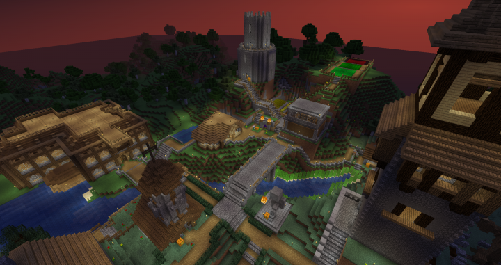 Popular Server Project : Community Village - OneManParty22 and justindennis1234