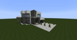 Small modern house #4 Minecraft Map & Project