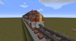 1980s Passenger Train Minecraft