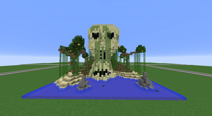 Popular Server Project : Skull Pirate Island (tropical themed)