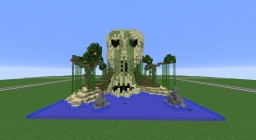 Skull Pirate Island (tropical themed) Minecraft Map & Project
