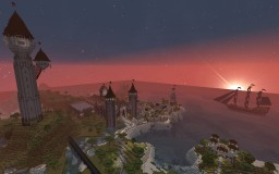 Castle Westbrook and Surrounding Areas Minecraft