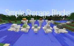 Simple Storage Blocks Minecraft Mod