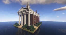 Old Orange County Courthouse - Hillsborough, NC, United States Minecraft Map & Project