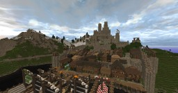 Solkhem - formal capital of North Minecraft Map & Project