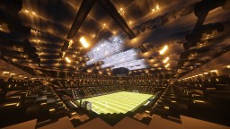 FRIENDS ARENA | SWEDEN MINECRAFT PROJECT  | scale 1:1 Minecraft Map & Project