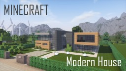 Modern House 3 (full interior) Minecraft Map & Project