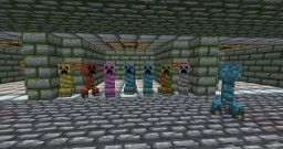 Creeper Addon pack Minecraft Texture Pack
