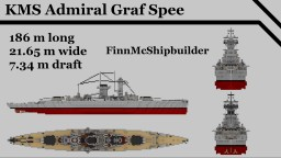 KMS Admiral Graf Spee Minecraft Map & Project