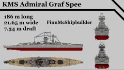 KMS Admiral Graf Spee Minecraft