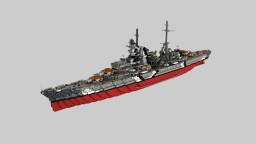 Heavy cruiser Prinz Eugen [1:1] Minecraft