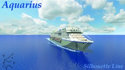 MS Aquarius (Custom Cruise Ship) (Download) Minecraft Map & Project