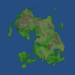 [16k x 16k] Zealcraft Server Map Minecraft Map & Project