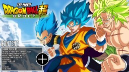 DRAGON BALL SKIN PACK: DRAGON BALL SUPER BROLY Minecraft Blog Post