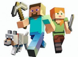 A Minecraft Character's story: Chapter 2, A New Friend Minecraft Blog Post