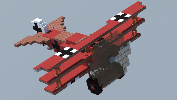 Popular Project : Fokker Dr.I 'Red Baron' (4:1 Scale)