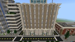 Lazuli City Federal Bank Minecraft Map & Project