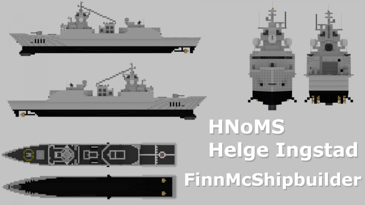 Popular Project : HNoMS Helge Ingstad
