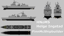 HNoMS Helge Ingstad Minecraft Map & Project