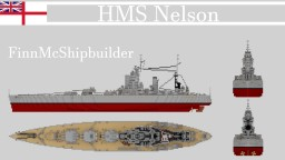 HMS Nelson Minecraft Map & Project