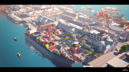 Docks Minecraft Map & Project