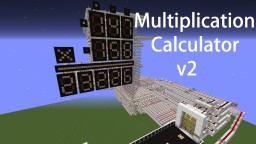 Multiplication Calculator v2 Minecraft Map & Project