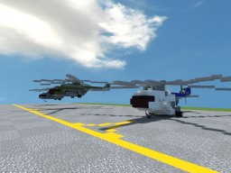 Mil Mi-8 Minecraft Map & Project
