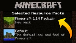 How To Install Minecraft 1.14 Textures Pack for ANY version of Minecraft Minecraft Blog Post