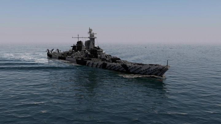 Popular Server Project : USS Montana BB 67 1:1