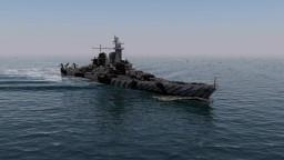 USS Montana BB 67 1:1 Minecraft