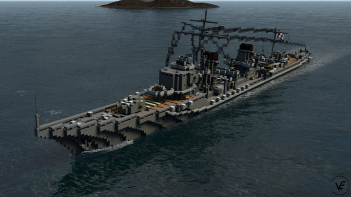 Popular Project : Yūgumo-class destroyers