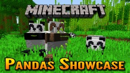 Minecraft 1.14 Village and Pillage Update | Panda Bears Showcase 🐼 Minecraft Blog Post