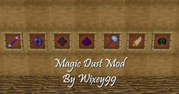 Magic Dust Mod - Add Spells And Artifacts To Your World (Datapack - For Vanilla Minecraft) Minecraft Data Pack