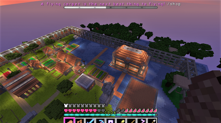 Popular Server Project : I am rehabbing a village!