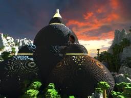 Alien temple 3 Minecraft