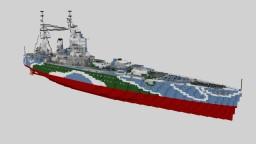 HMS Rodney Minecraft Map & Project