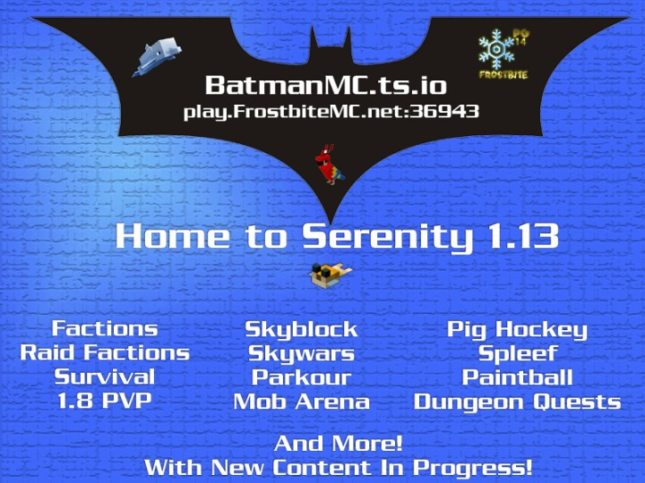 Popular Server Project : Serenity