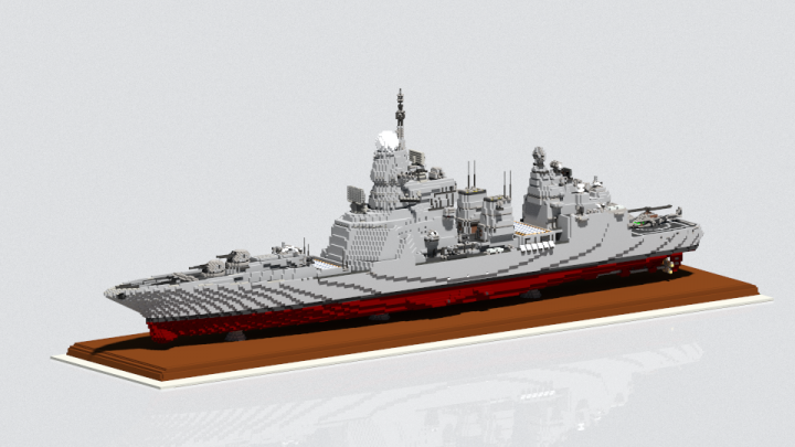 Popular Project : Anti Aircraft Cruiser HQ - 74  Paracel Islands