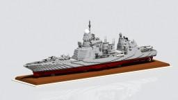 Anti Aircraft Cruiser HQ - 74  Paracel Islands Minecraft