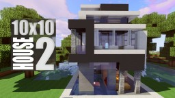 10 x 10 Contemporary House 2 Minecraft Map & Project