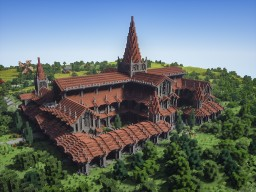 St. Kristian's Monastery Minecraft Map & Project