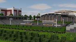 Basketball sports complex |  Training base Minecraft