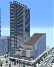 Japanese skyscraper Minecraft