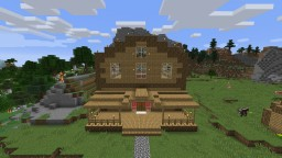 The Bedrock Breaker house and shack Minecraft Map & Project