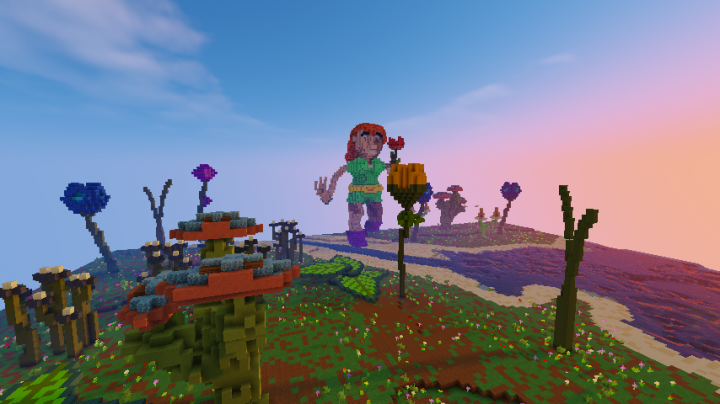 Popular Server Project : Big Flowers World