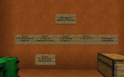Desert Parkour Minecraft Map & Project