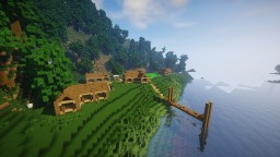 Tiny Lake Town Minecraft Map & Project