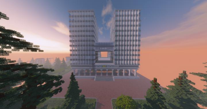 UA High School [My Hero] Minecraft Project